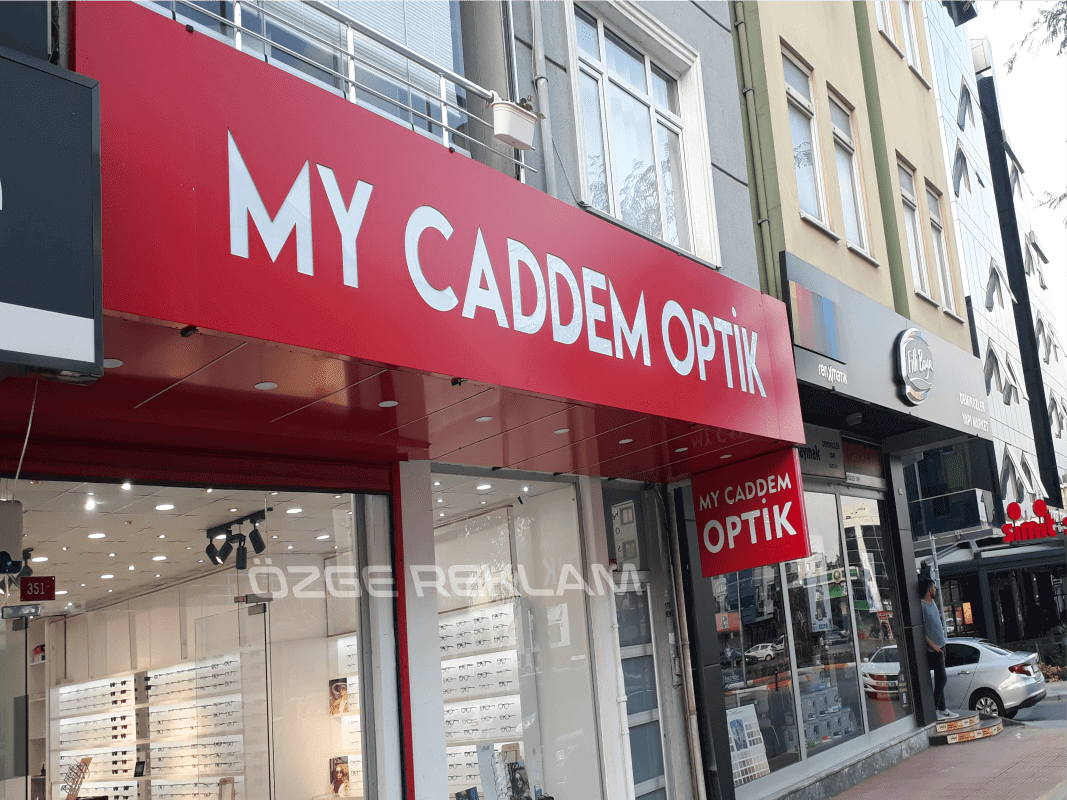 ozge reklam my caddem optik tabela