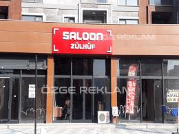 ozge reklam saloon zulkuf kuafor tabela