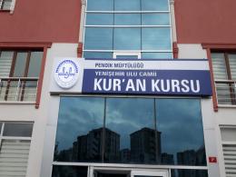 Yenişehir Ulu Camii Kursan Kursu Reklam Tabela Çalışması